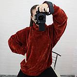 Женская кофта с рукавом летучая мышь, фото 9