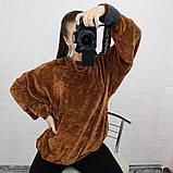 Женская кофта с рукавом летучая мышь, фото 10
