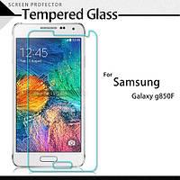 Защитное стекло Premium Tempered Glass 0,26mm (2,5D) для Samsung G8508/G850F Galaxy Alpha