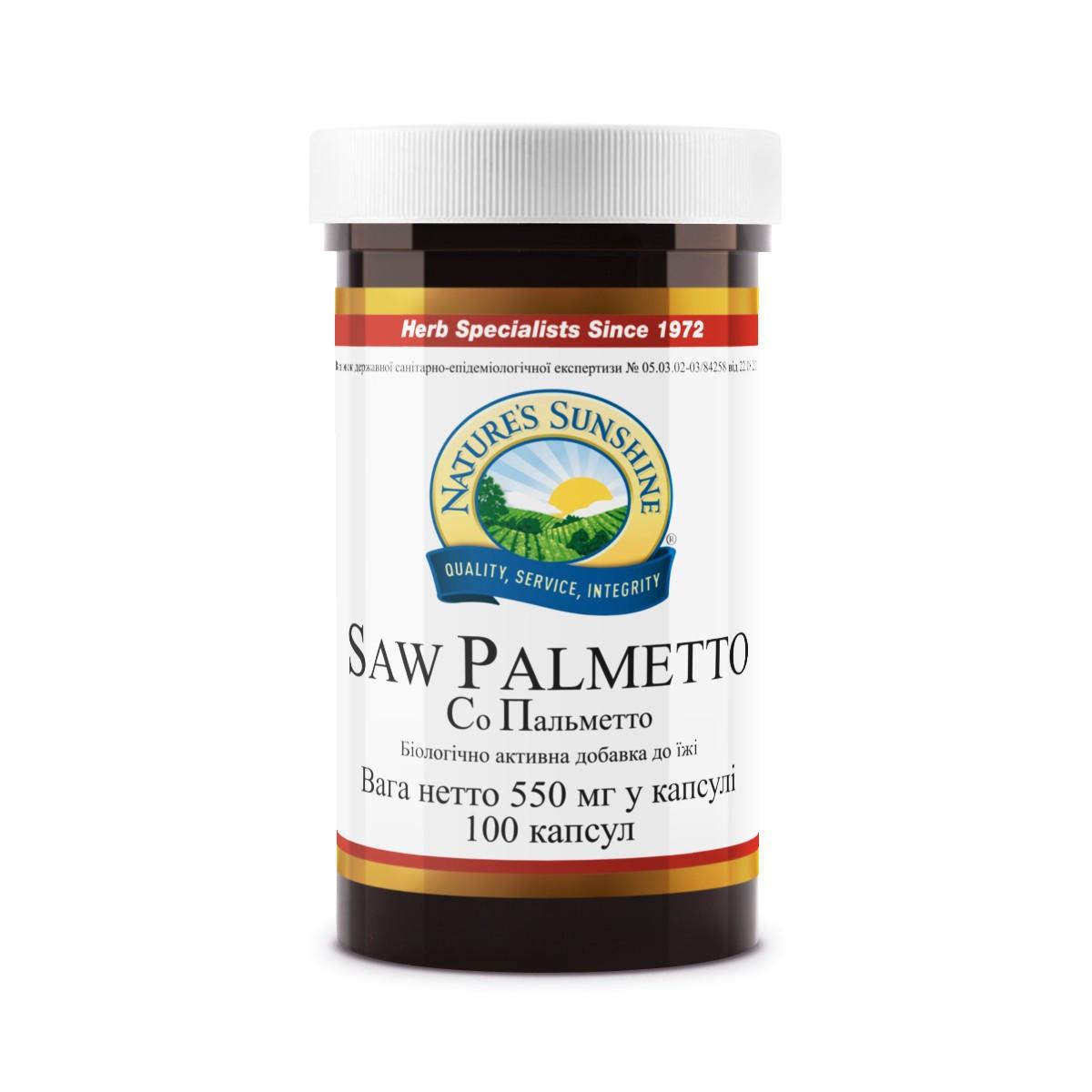 Saw Palmetto Со Пальметто, NSP, НСП, США Здоровье предстательной железы