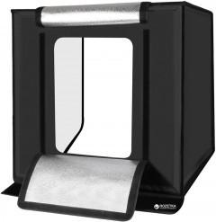 Лайтбокс (photobox) з LED світлом CY-70 для предметної фотозйомки (макрозйомки) 70 х 70 х 70