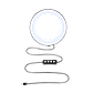 """Кільцевий LED світло ZM108 (8"""" - 21см) з пультом, USB, стійкою 80 см і шарніром для предметної зйомки, фото 7"""