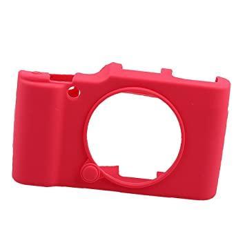 Защитный силиконовый чехол для фотоаппаратов FujiFilm XA2, XA1, XM1, XM2 - красный