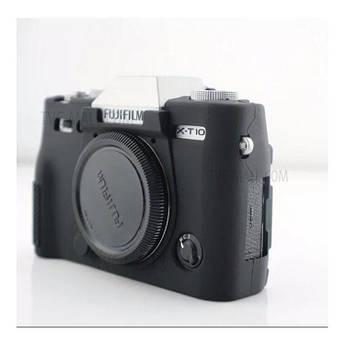 Захисний силіконовий чохол для фотокамери FujiFilm XT10, XT20 - чорний