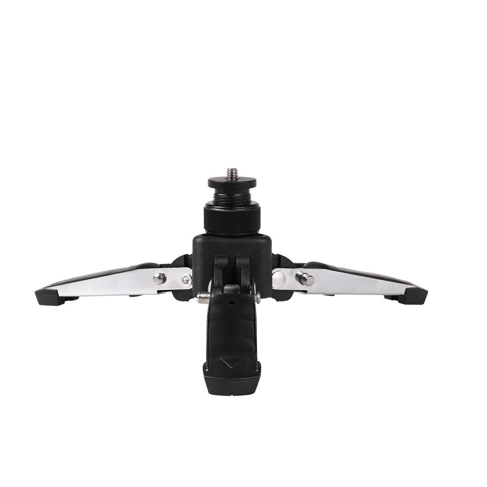 Металлический мини-штатив - подставка для фотоаппарата, видеокамеры, экшн камеры и др. (код: DV-holder)