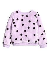 Детский плюшевый свитер для девочки  1,5-2 года