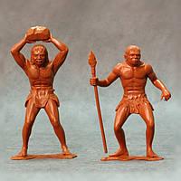 Пещерные люди, набор №3 из 2 фигур (150 мм). ARK MODELS 80012