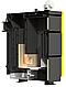 Шахтный котел нижнего горения сталь 6 мм Kronas JET 30 кВт с европейской автоматикой и функцией PID, фото 2