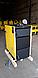 Шахтный котел нижнего горения сталь 6 мм Kronas JET 30 кВт с европейской автоматикой и функцией PID, фото 3