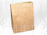 """Бумажный пакет """"Крафт"""" 220*120*290 мм/ 1000 шт."""