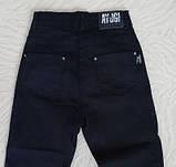 Стильные джинсовые брюки детские и подростковые Цвет Черный Рост 134-164см, фото 3