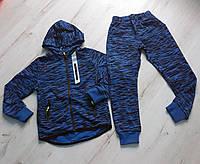 Спортивный костюм двойка для мальчиков с микро начесом Active Sports 134- р.р.