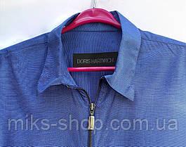 Качественная фирменная рубашка размер наш 60 (Я-18), фото 3