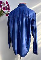 Качественная фирменная рубашка размер наш 60 (Я-18), фото 2
