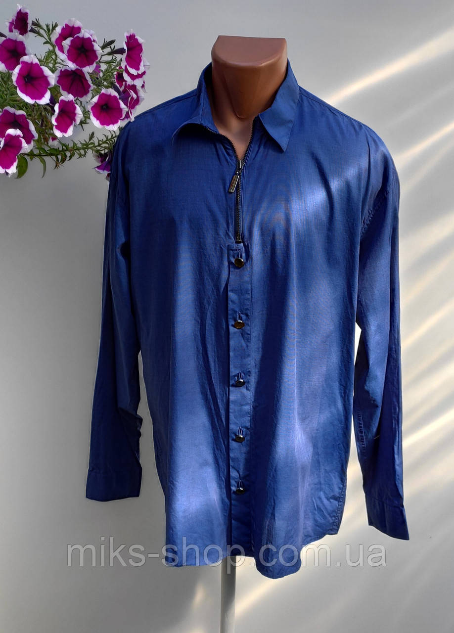 Качественная фирменная рубашка размер наш 60 (Я-18)