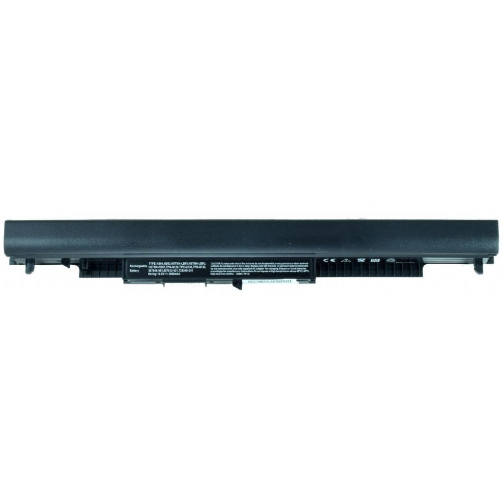 Аккумулятор для ноутбука HP 250 G4 HSTNN-LB6V, 2600mAh, 3cell, 14.6 V, Li-ion, чорний Alsoft (A47392)