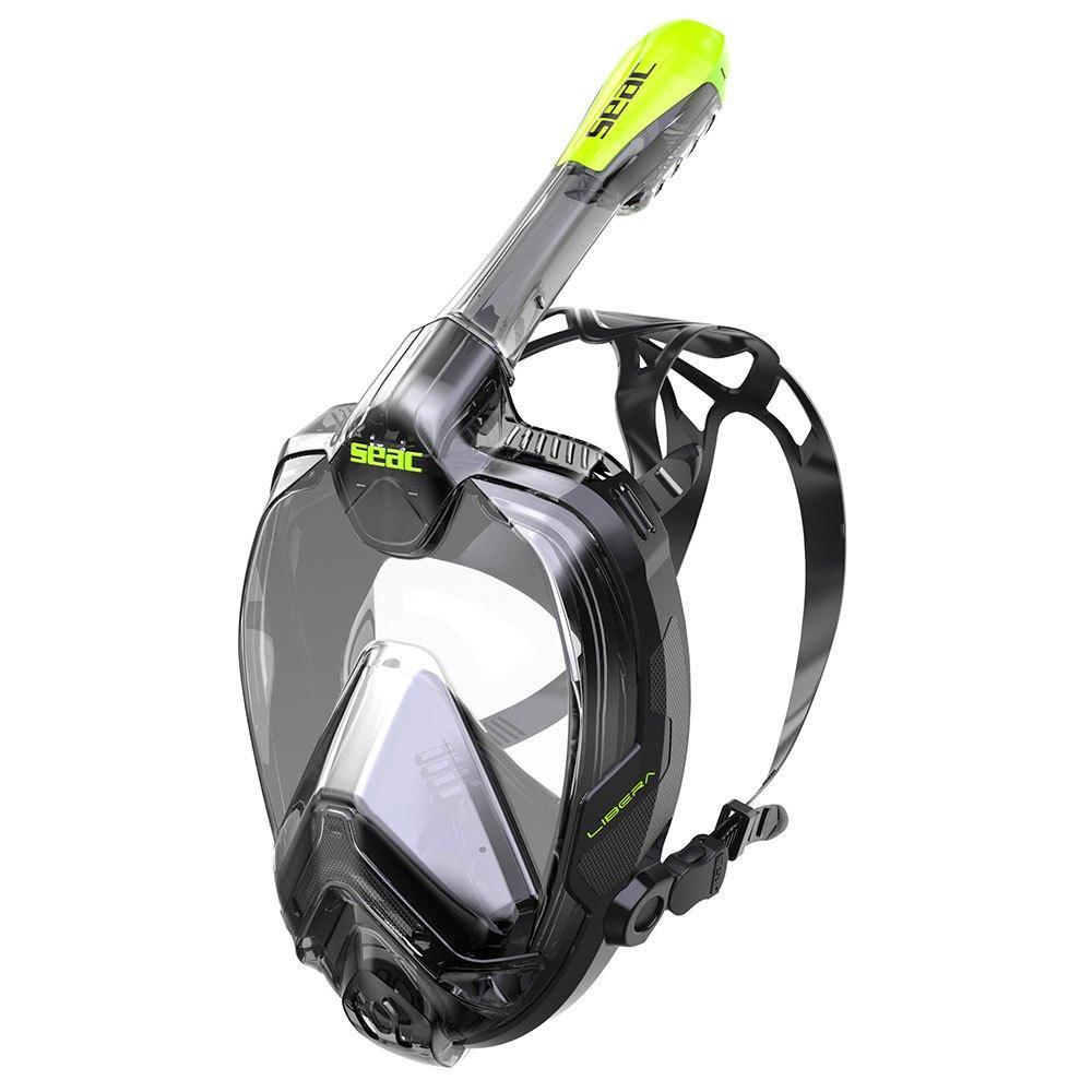 Полнолицевая маска SEAC LIBERA (Черно-зеленый)