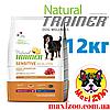Корм Трейнер Natural Trainer Medium&Maxi для собак средних и крупных пород с ягненком и рисом 12 кг