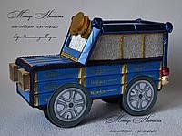Машина джип из конфет. Подарок из конфет мальчику., фото 1