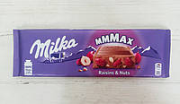 Молочный шоколад Milka Trauben-nuss 270g (Швейцария), фото 1