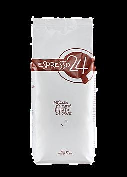 Кофе в зернах Garibaldi Espresso 24 1 кг с характерной итальянской горчинкой и фруктовым оттенком. Арабика,роб