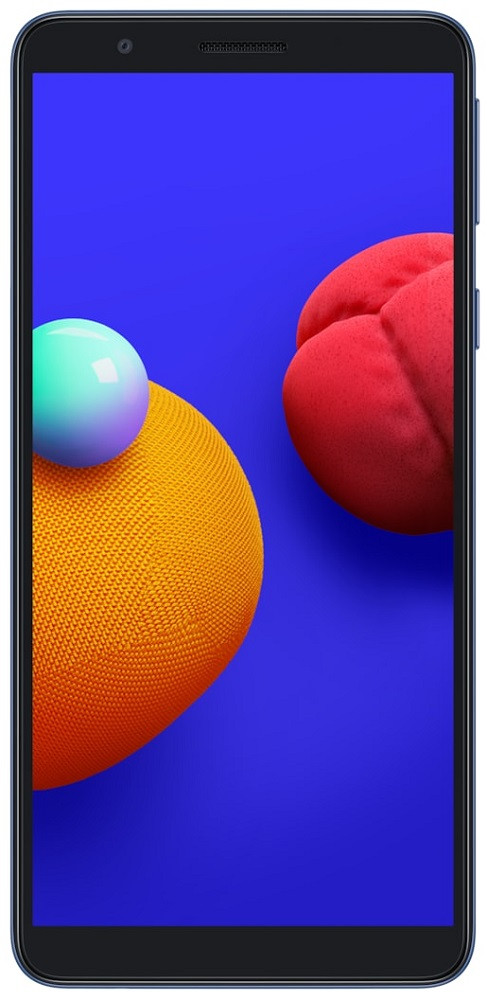 Смартфон Samsung A013 Galaxy A01 Core 1/16Gb Blue (SM-A013FZBDSEK) UA