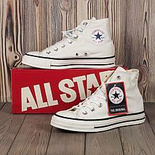 Кеды Converse All Star 80s Style (Белые высокие) Все размеры