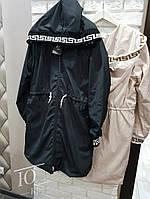 Куртка женская с капюшоном на завязке в расцветках 60772, фото 1