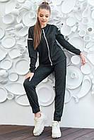 Модный повседневный костюм трехнитка с люрексом 40-52 размеры разные расцветки