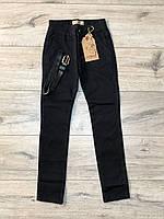 Катоновые штани для дівчаток (Стрейч-катон). 134 - 146 зростання.