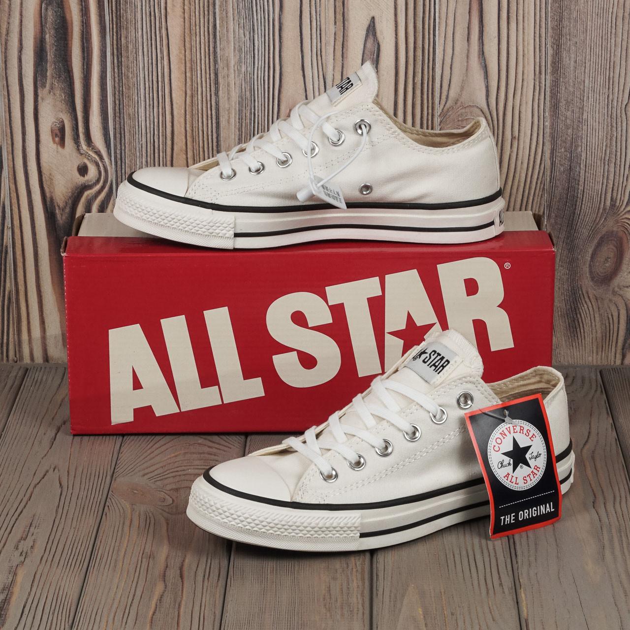 Кеды Converse All Star 80s Style (Белые низкие) Все размеры