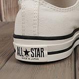 Кеды Converse All Star 80s Style (Белые низкие) Все размеры, фото 3