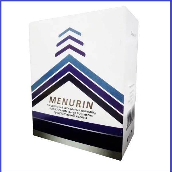 Менурин (Menurin) препарат від простатиту