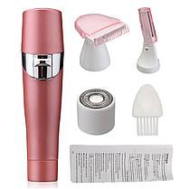 Женский триммер для тела Refreshing Skin Hair Cleansing QL-607 | Триммер 3в1, фото 2