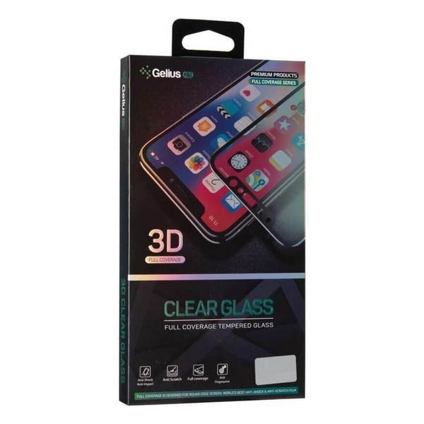 Захисне скло Xiaomi Redmi Note 8 Pro 3D Pro (чорне) Gelius