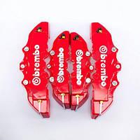 Накладки на червоні супорта Brembo