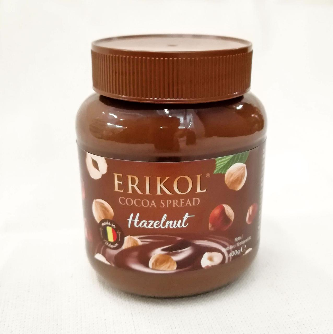 Erikol Cocoa Spread Hazelnut 400 gram