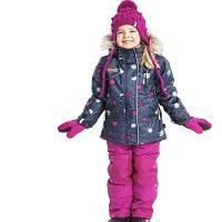 Зимові комбінезони для дівчаток