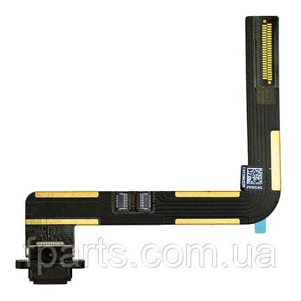 Шлейф iPad Air (A1484, A1474, A1475) коннектор зарядки, Black, фото 2