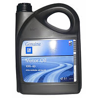 Моторное масло GM/OPEL 10W40 Semi Synthetic 5л полсинтетика Genuine оригинальное для Opel Chevrolet Daewoo