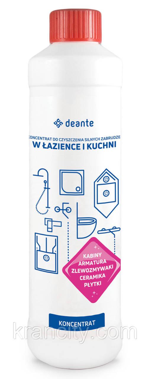 Концентрат для очистки устойчивых загрязнений в ванной комнате и кухне DEANTE ZZZ 000B Польша