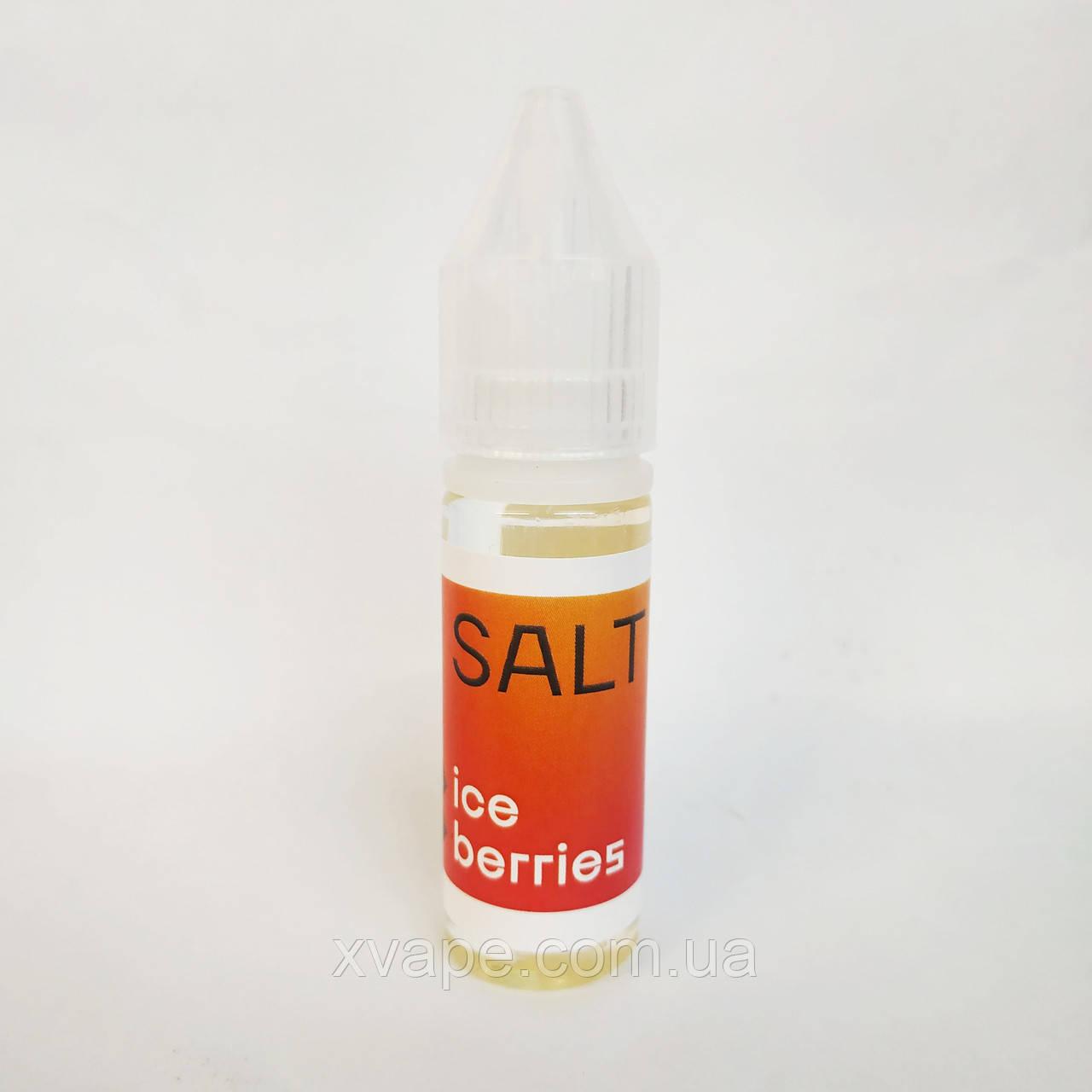 """Топовые жидкости для POD систем """"X SALT"""" ICE BERRIES 15 ml"""