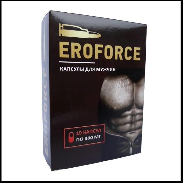 Капсулы для потенции Eroforce (Эрофорс) 10 шт
