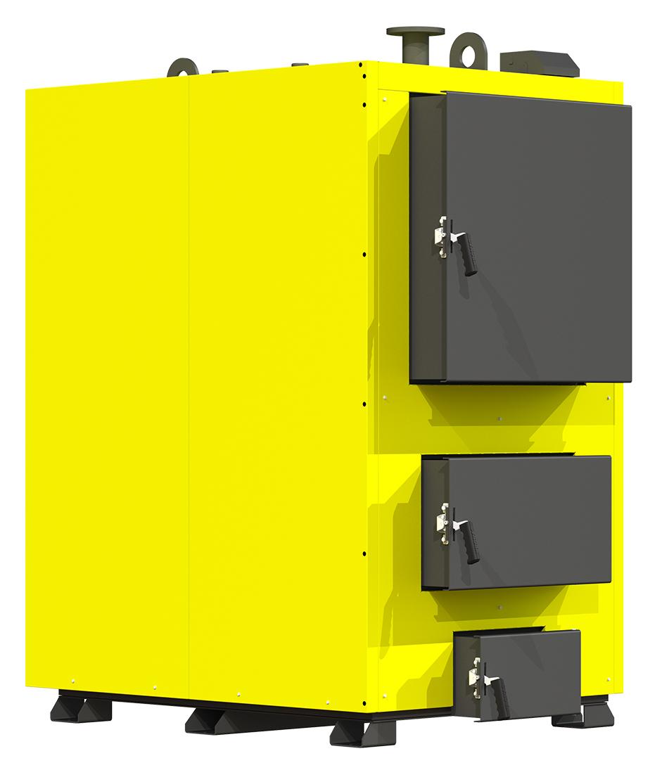 Жаротрубный водогрейный котел на твердом топливе 300 кВт Kronas Heat Master SH с блоком автоматикой