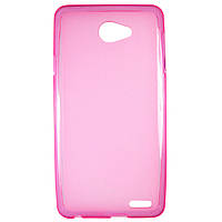 Чехол Colored Silicone для Fly IQ4403 Energie 3 Rose