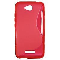 Чехол S-Line чехол для HTC Desire 616 Red