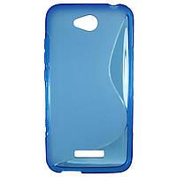 Чехол S-Line чехол для HTC Desire 616 Blue