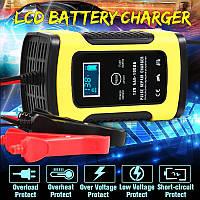Автоматическое SMART зарядное устройство авто аккумулятора 12в 4-100Ah авто зарядка акб