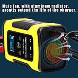 Автоматическое SMART зарядное устройство авто аккумулятора 12в 4-100Ah, фото 5