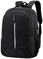 Молодежный мужской рюкзак черный для города Grooc